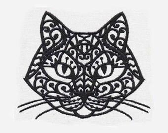 Kitten Purr Tea Towel | Embroidered Kitchen Towel | Embroidered Towel | Embroidered Tea Towel | Personalized Kitchen Towel | Cat Lover Gift
