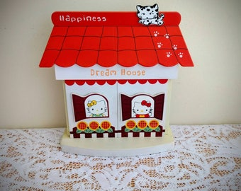 "Hello Kitty - ""Happiness - Dream House"" Collectible Picture Frame - Vintage"