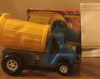 Vintage 1970s Topper Toys Zoomer Boomer Ash Can