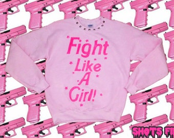 Customizable Chick Fight Sweatshirt