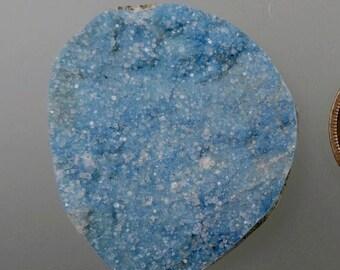 Kinoite with Druzy Apophyllite Cabochon, Druzy Kinoite Cab, Kinoite, Druzy Apophyllite, Jewelry Supplies, Silversmith Supplies, 49erMinerals