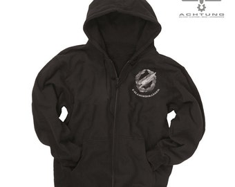 Black ′Fallschirmjäger′ Gym Jacket