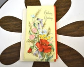 1950s NOS Birthday Card with Envelope