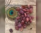 Natural Ruby Crystal - Crystal Healing & Base Chakra Stone