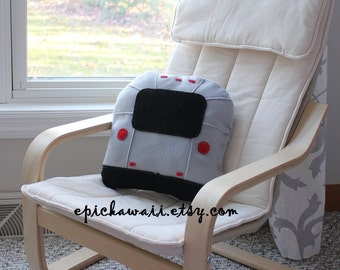 PATTERN: Airstream Pillow For Kids Children 12x12 inch Cushion Sewing Pattern Travel Trailer Camper