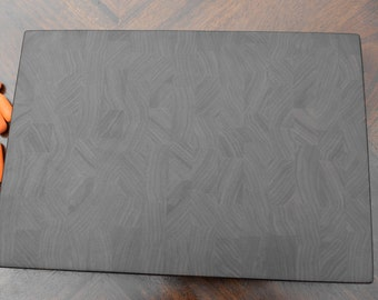 Walnut end grain butcher block