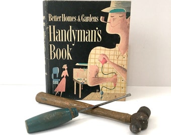 Better Homes and Gardens Handyman's Book - 1957 - home repair reference book
