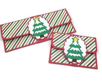 Christmas money holder, Christmas gift card holder, money envelope, Christmas envelope, Christmas card, cash gift envelope,