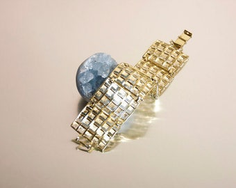 1960s Cage Cuff Bracelet
