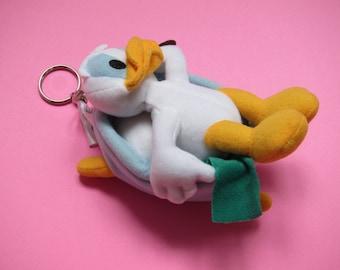 Bathing Donald Duck keychain