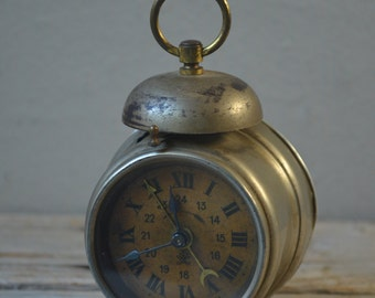 Small Antique French Alarm Clock