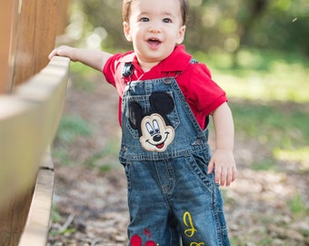 mickey mouse birthday outfit mickey birthday overalls baby boy mickey mouse 1st birthday
