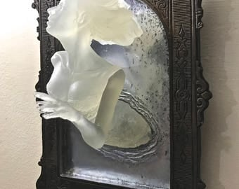 Ghost in the Mirror Wall Plaque, Glow in the Dark