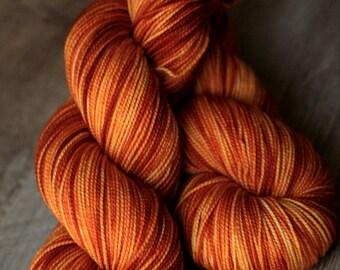 "Sock yarn - 100% SW Merino - Autocorrect - ""GOD DAMSEL"""