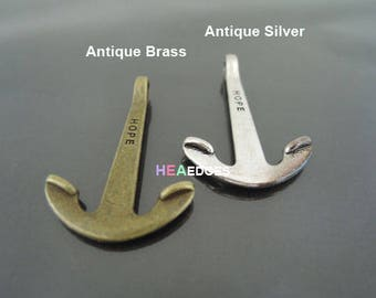 1pc Anchor Clasp - Finding Anchor Hook Toggle Clasp Clousure Fastener