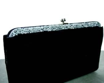 Stylecraft Black Faile, Vintage, Evening Clutch