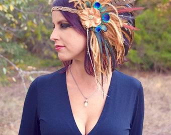 WOODLAND GRACE Hair Clip Headdress