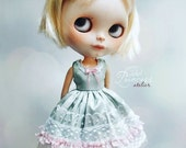 Last One!!! Blythe Dress WINTER FLOWER, New Collection By Odd Princess Atelier, Shabby Chic, Vintage, Special Outfit, Pre-Order