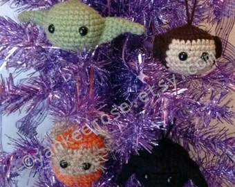 Star Wars Inspired Ornaments PATTERN ONLY