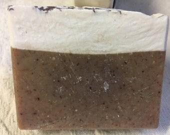 Coconut Cream Pie scented handmade soap