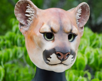 Cougar Cat Mask