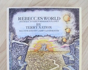 Rebecca's World by Terry Nation -- scarce First American Edition 1977