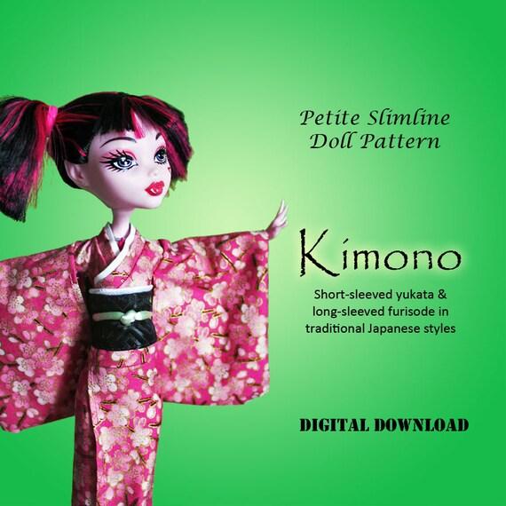 kimono mönster gratis