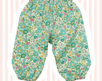 Liberty Betsy Print Baby Bloomers