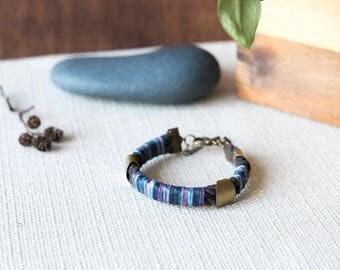 SALE - MAZIL Soft Textile Bracelet