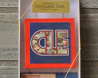 CLEVELAND INDIANS Rally Together  - Limited Edition Boxed Ornament