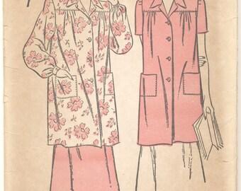 Factory Folded Vintage Advance 4325 Smocks 1940s