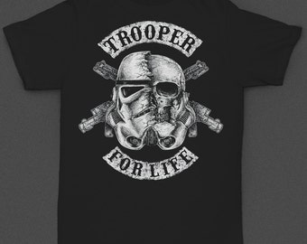 "Stormtrooper ""Trooper for Life"" Tshirt"
