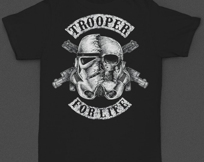"Stormtrooper ""Trooper for Life"" Tshirt"
