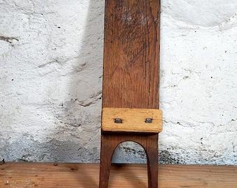 Antique Boot Jack Hanging Boot Jack Vintage Door Stopper Primitive Boot Jack.