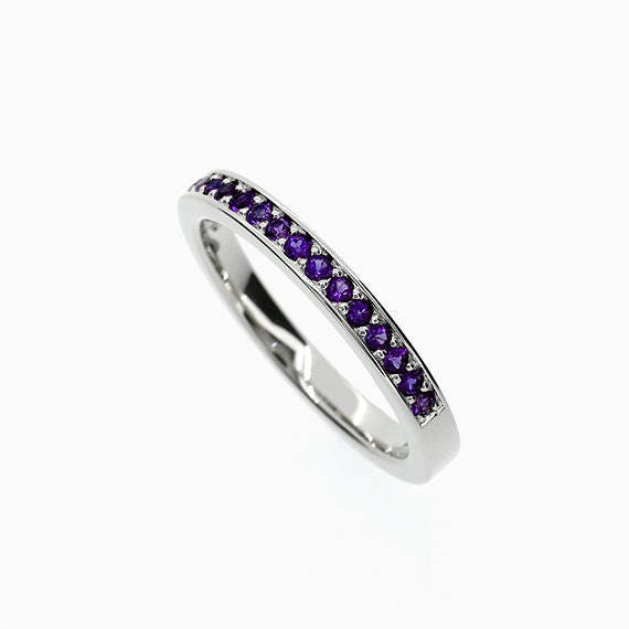 like this item - Amethyst Wedding Ring