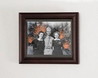 "Original Art ""Squad"" - 8x10 Framed Painting"