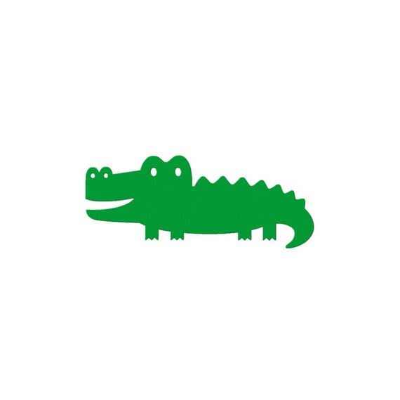Alligator Die Cut Crocodile Die Cut Paper Alligators Zoo