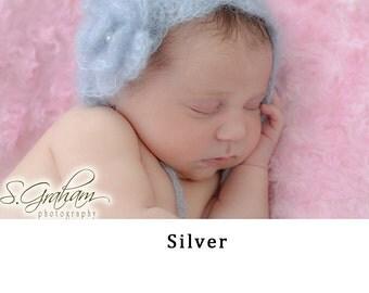 Newborn Girl Crochet Hat - Baby girl hat - Baby Girl Hat with flower - Baby Girl Crochet Lace Bonnet - NEWBORN hat - newborn bonnet - hats