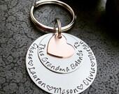 Grandma Keychain This Grandma Belongs To Woman's Keychain Great Mother's Day Gift for Grandma