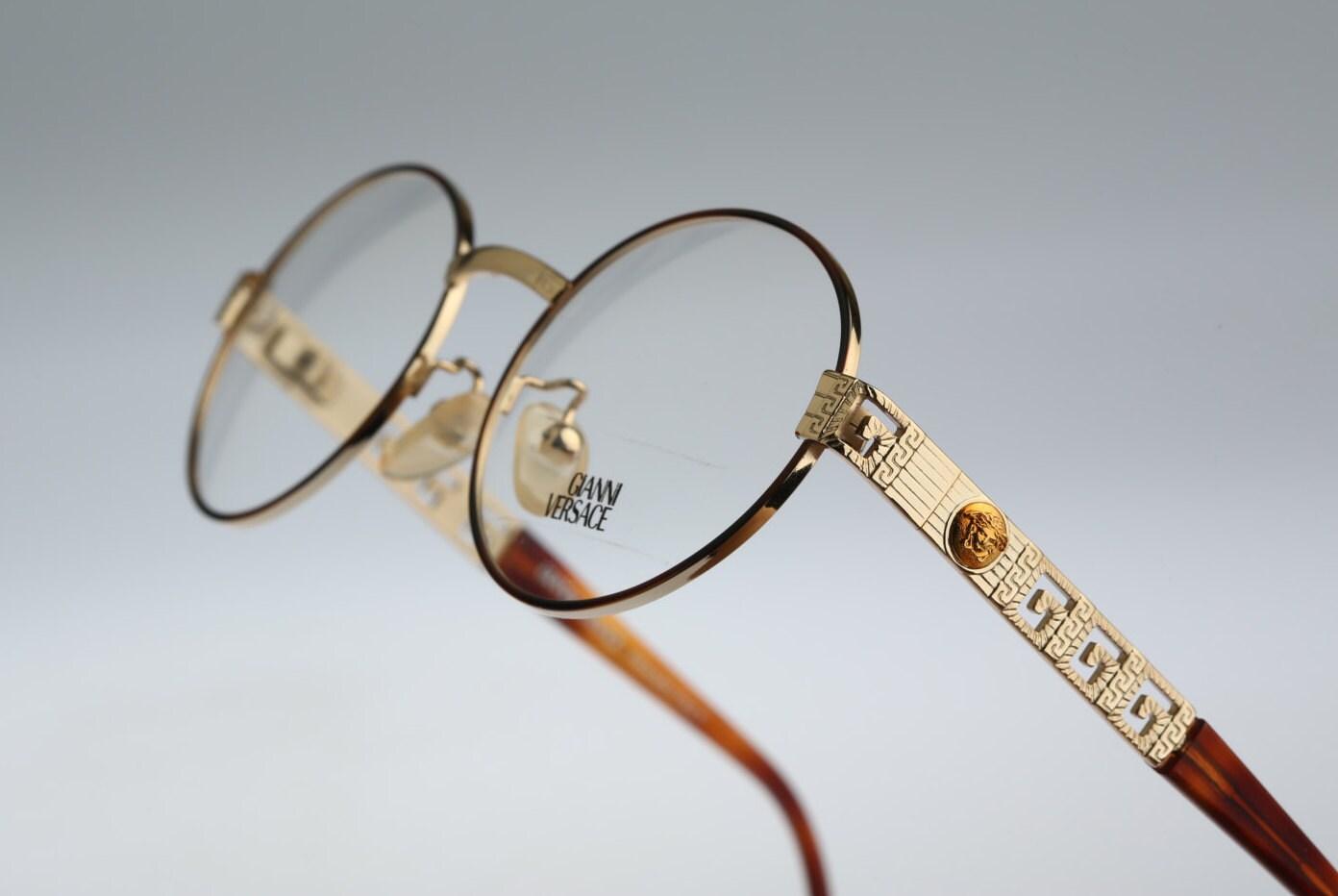 Gianni Versace Mod G 67 Col 07 M / Vintage Sunglasses & eyeglasses ...