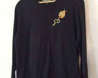 CHRISTIAN DIOR VINTAGE tee-shirt top