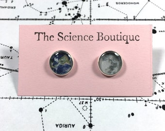 Earth and Moon Earrings