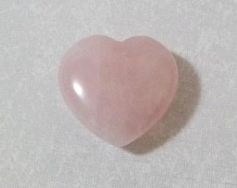 Natural Small Rose Quartz Heart RQHS-3