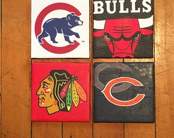 Chicago Sports Coasters
