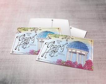 Greetings from Chapel Hill Postcards - Set of 10