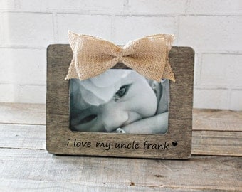 personalized uncle frame love my uncle frame niece nephew uncle gift my favorite uncle picture frame 1 uncle army green frame