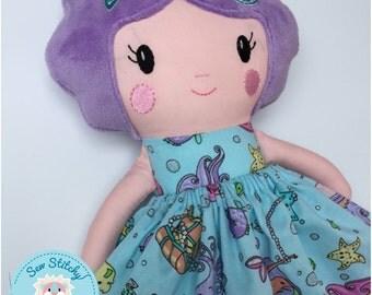 """Maisy 18"""" Fabric Doll"""