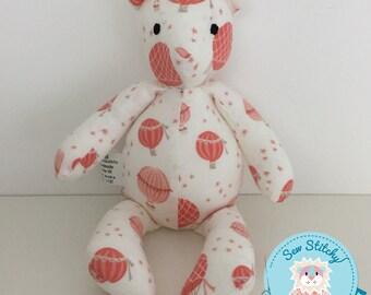 SALE*REDUCED* Mini Bear - Hot Air Balloons