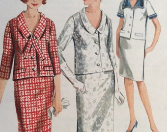 Hot Summer Sale Butterick pattern 3621 from the 60's, vintage Butterick pattern, vintage patterns, two-piece dress patter, pattern 3621, vin