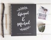 Photo Booth Guest Book. Custom Wedding Photo Book. Photo Booth Book For Wedding. Wedding Custom Album Polaroid Photo Book. Wedding Album